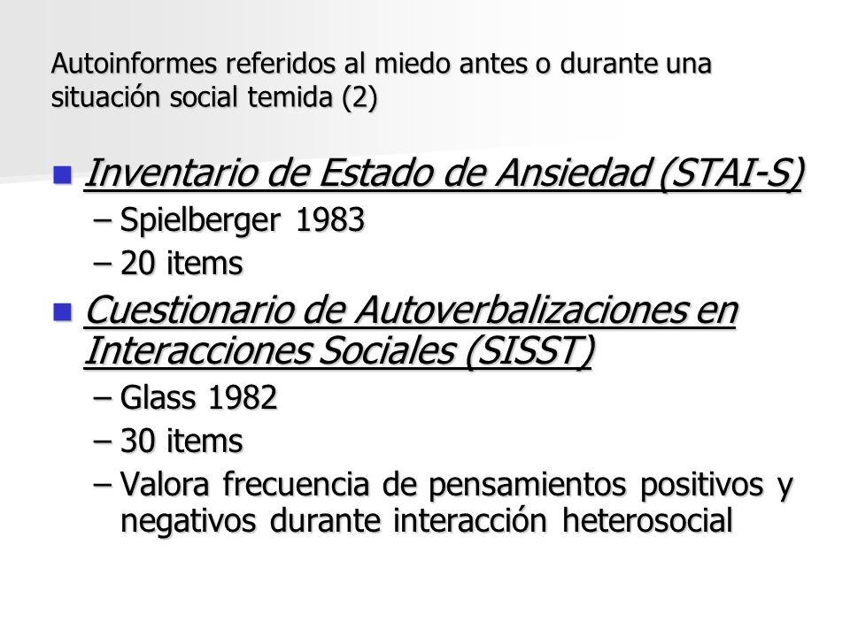 Inventario de Estado de Ansiedad (STAI-S)