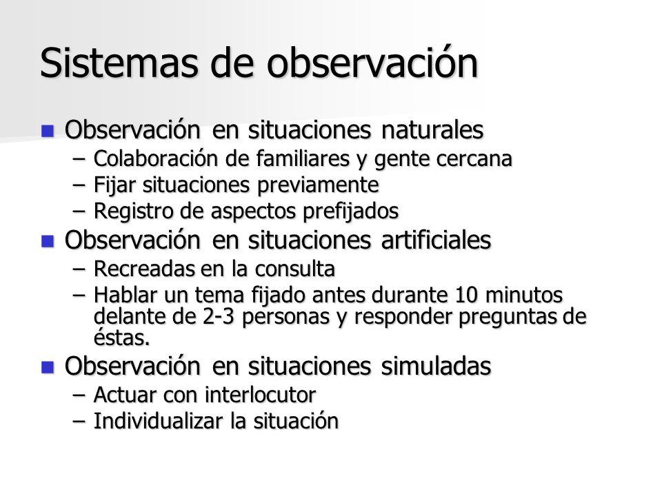 Sistemas de observación