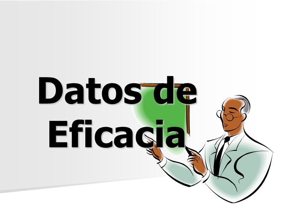 Datos de Eficacia
