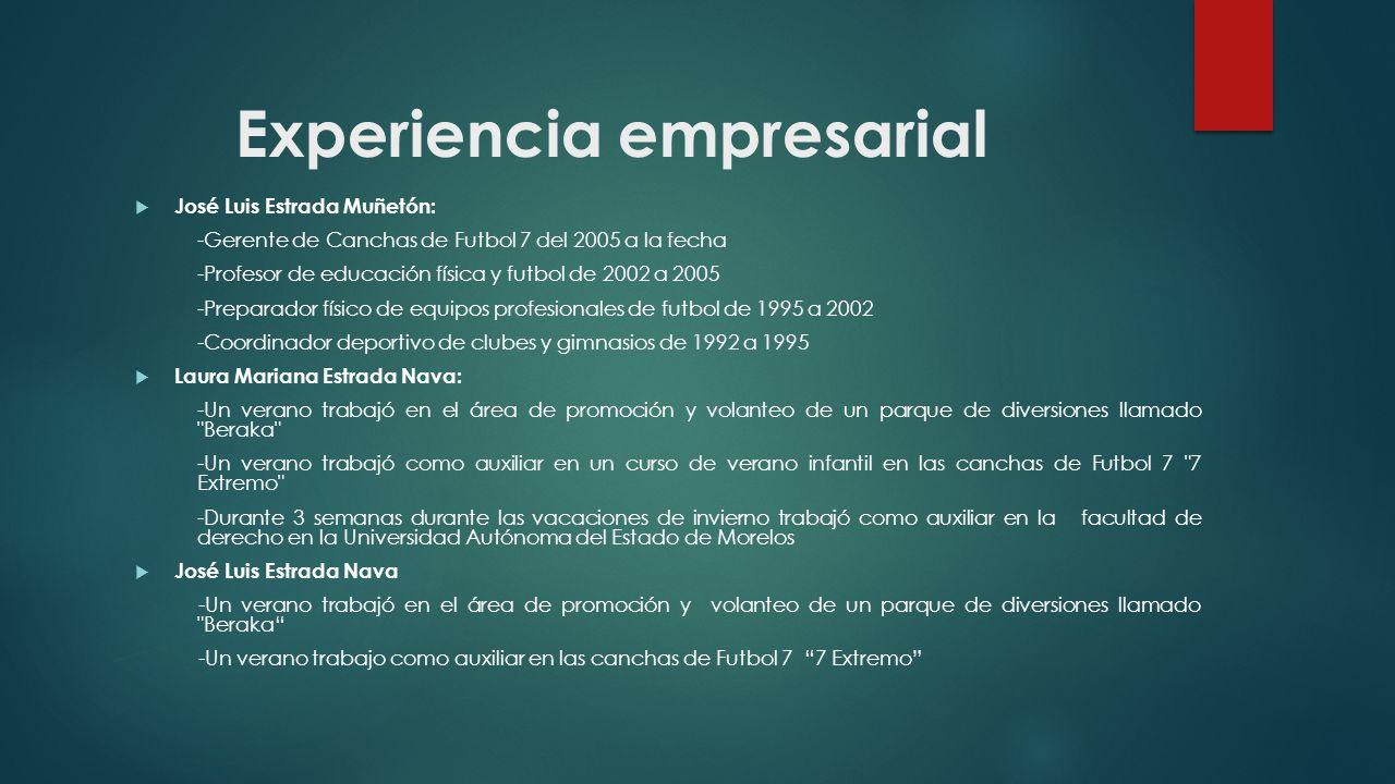 Experiencia empresarial