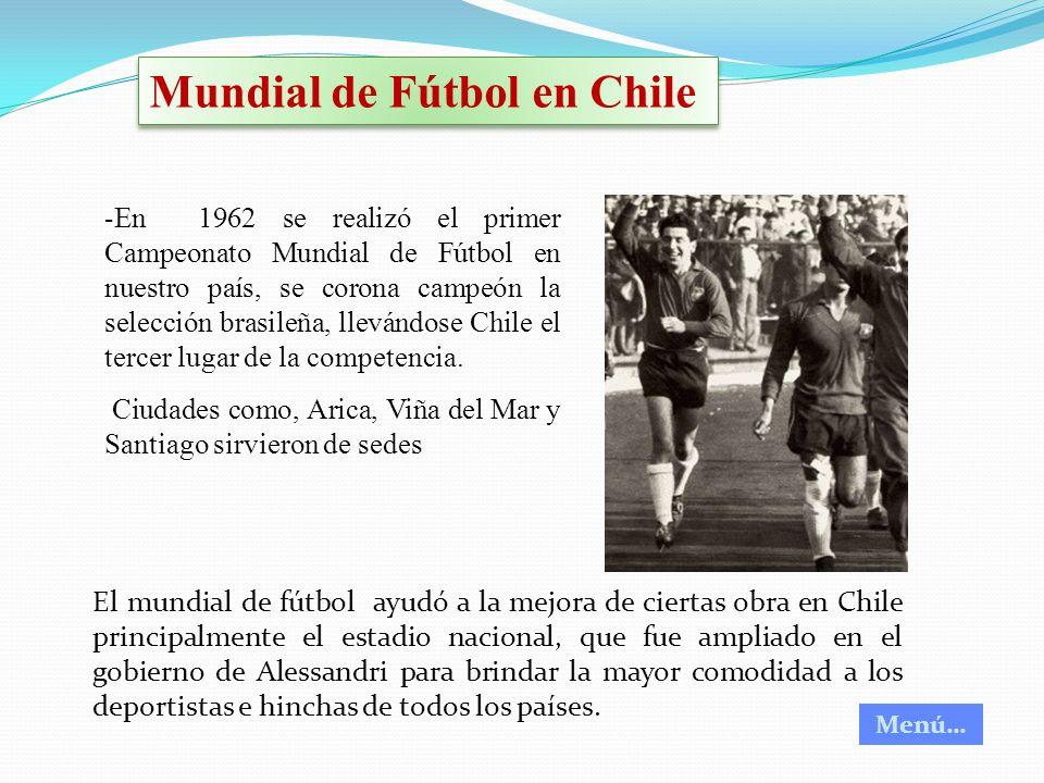 Mundial de Fútbol en Chile