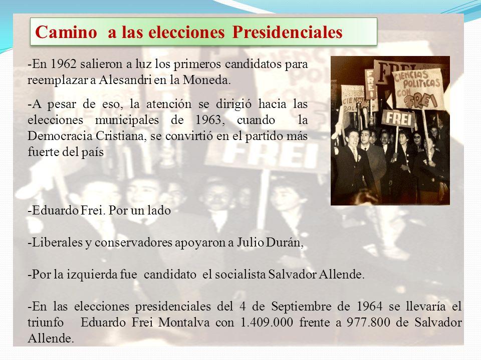 Camino a las elecciones Presidenciales