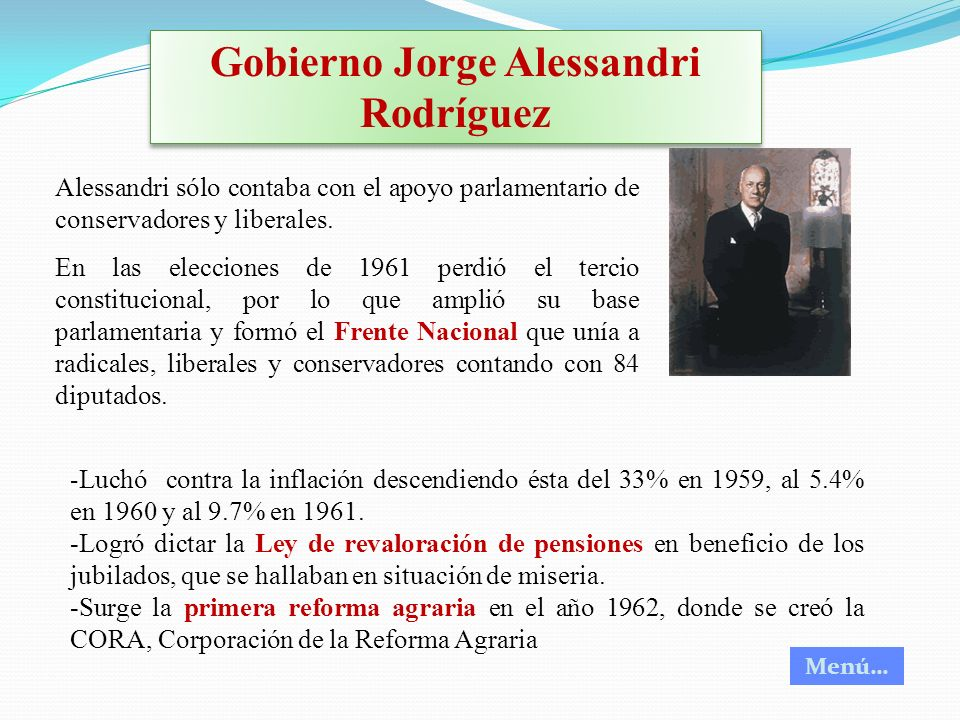 Gobierno Jorge Alessandri Rodríguez
