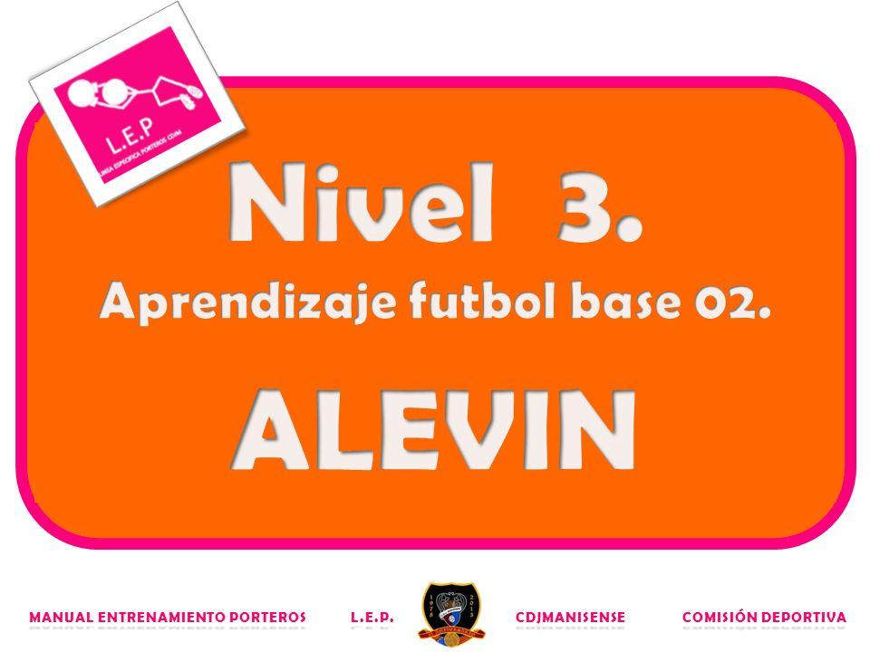 Aprendizaje futbol base 02.