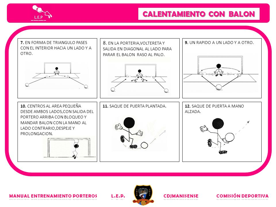 CALENTAMIENTO CON BALON