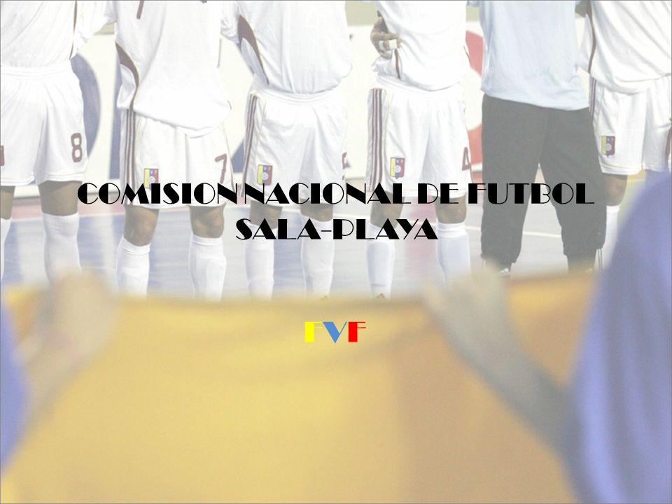 COMISION NACIONAL DE FUTBOL SALA-PLAYA