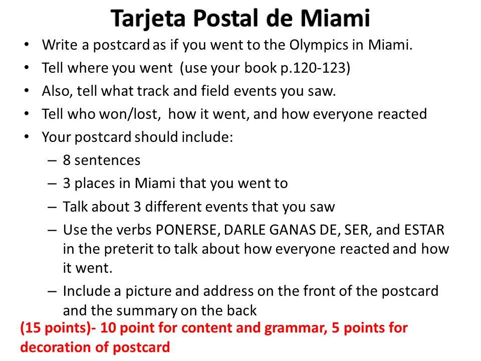 Tarjeta Postal de Miami