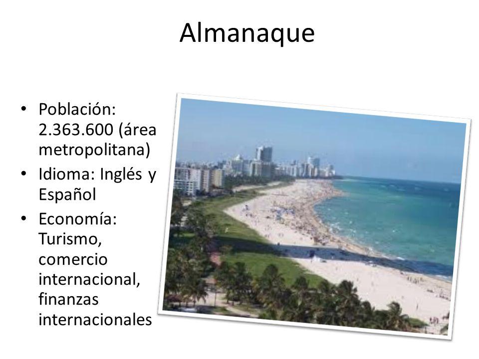 Almanaque Población: 2.363.600 (área metropolitana)