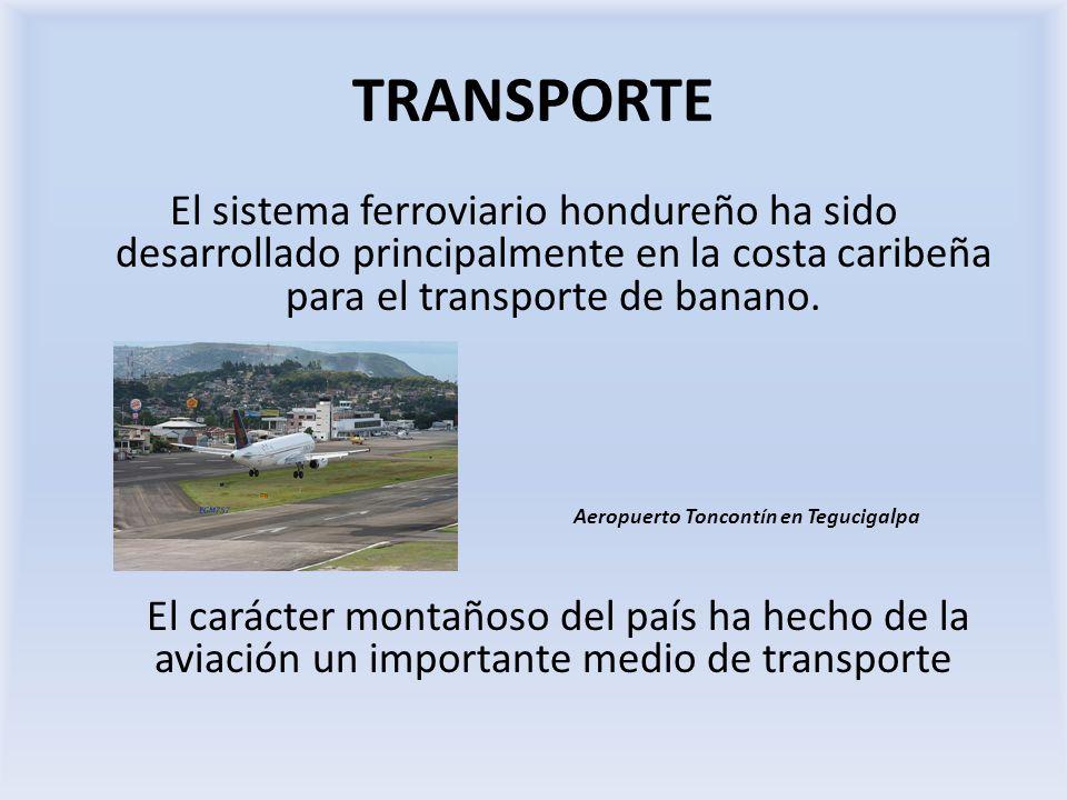 Aeropuerto Toncontín en Tegucigalpa