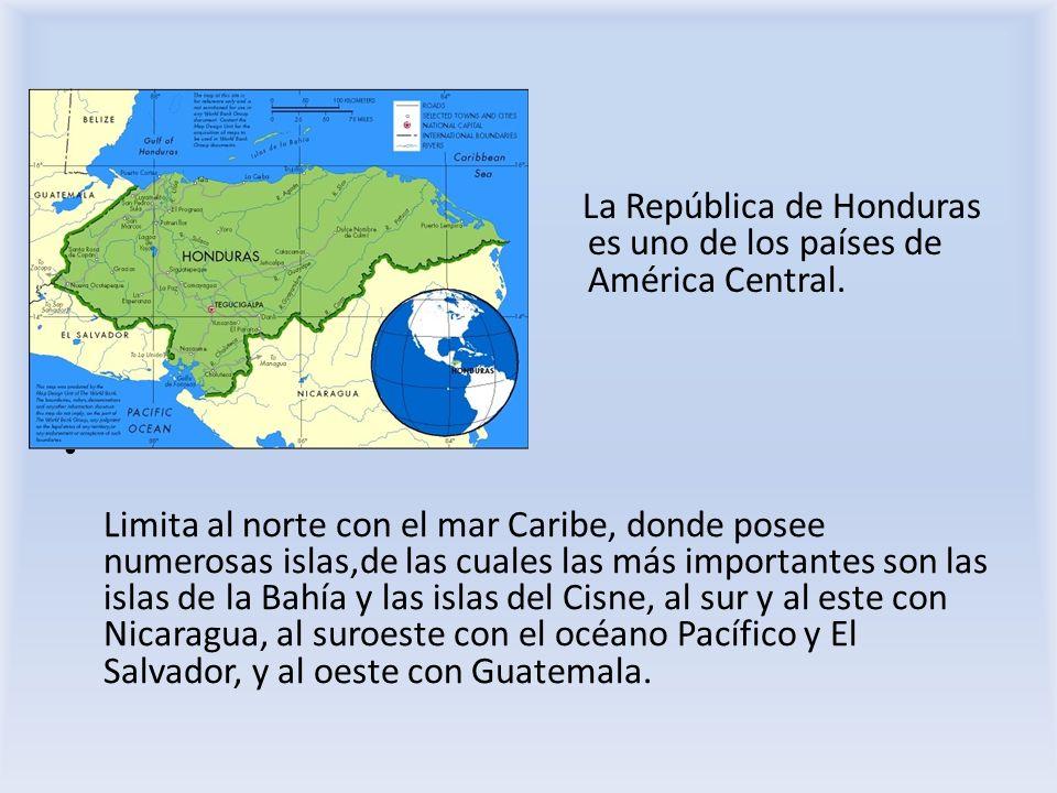 La República de Honduras es uno de los países de América Central.