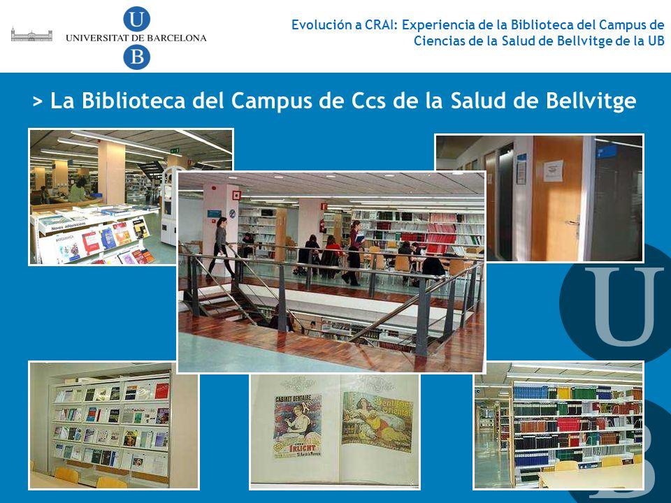 > La Biblioteca del Campus de Ccs de la Salud de Bellvitge