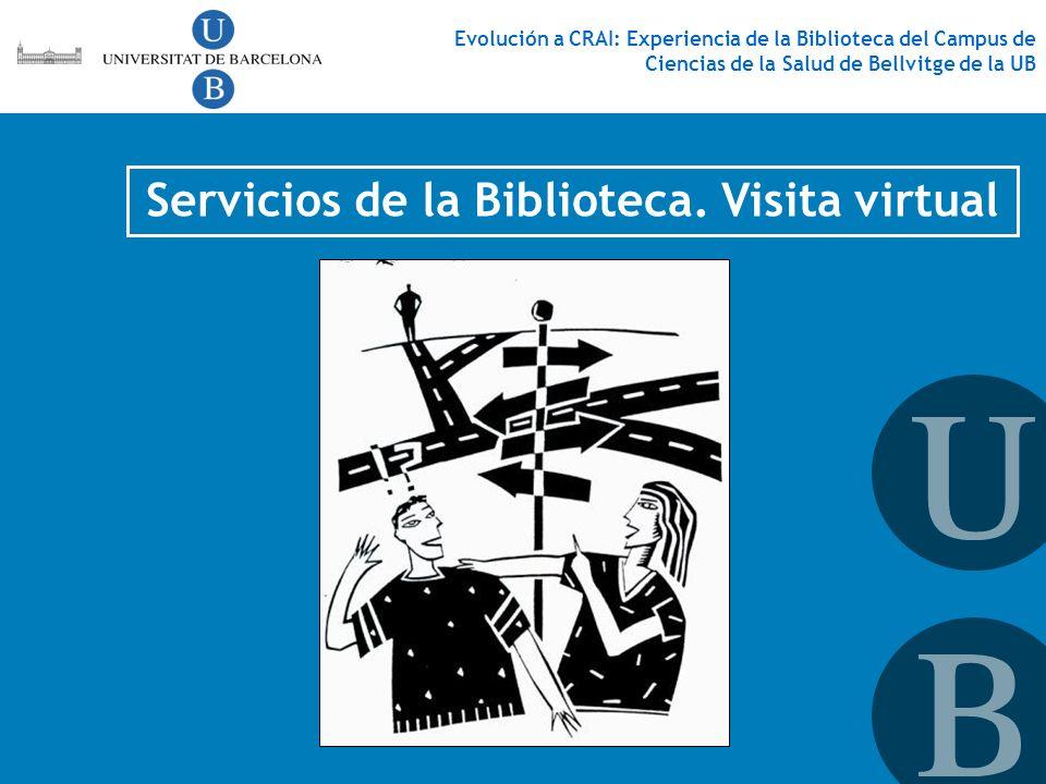 Servicios de la Biblioteca. Visita virtual