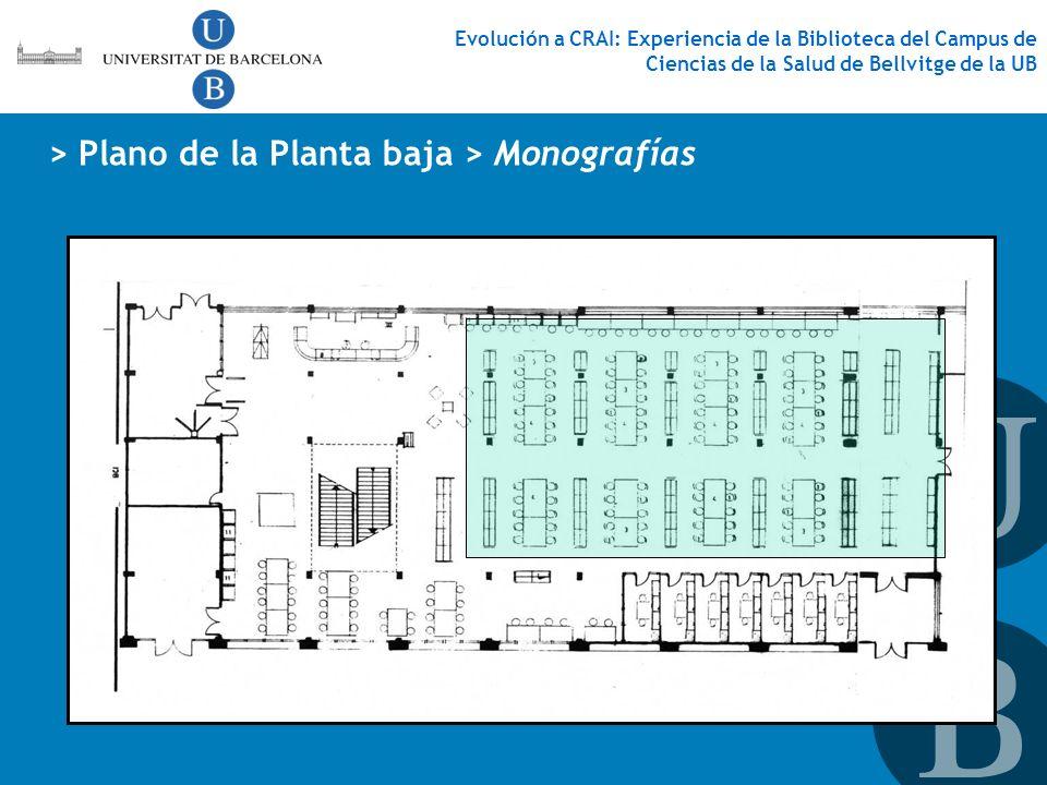 > Plano de la Planta baja > Monografías