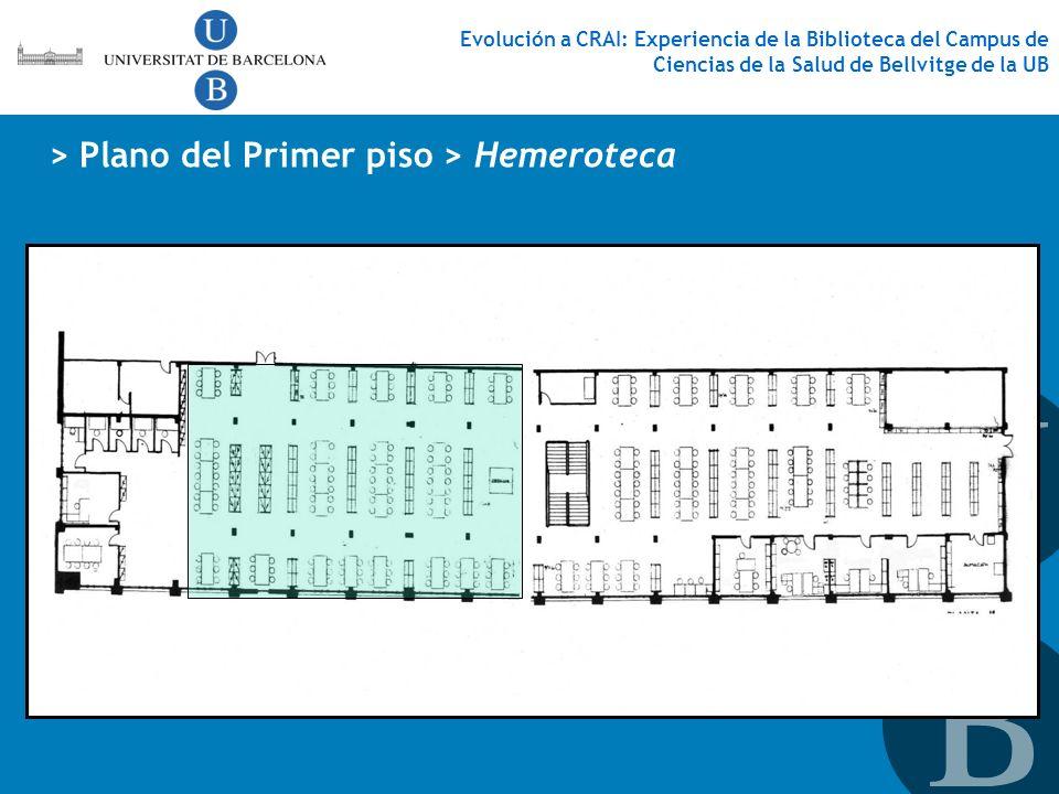 > Plano del Primer piso > Hemeroteca