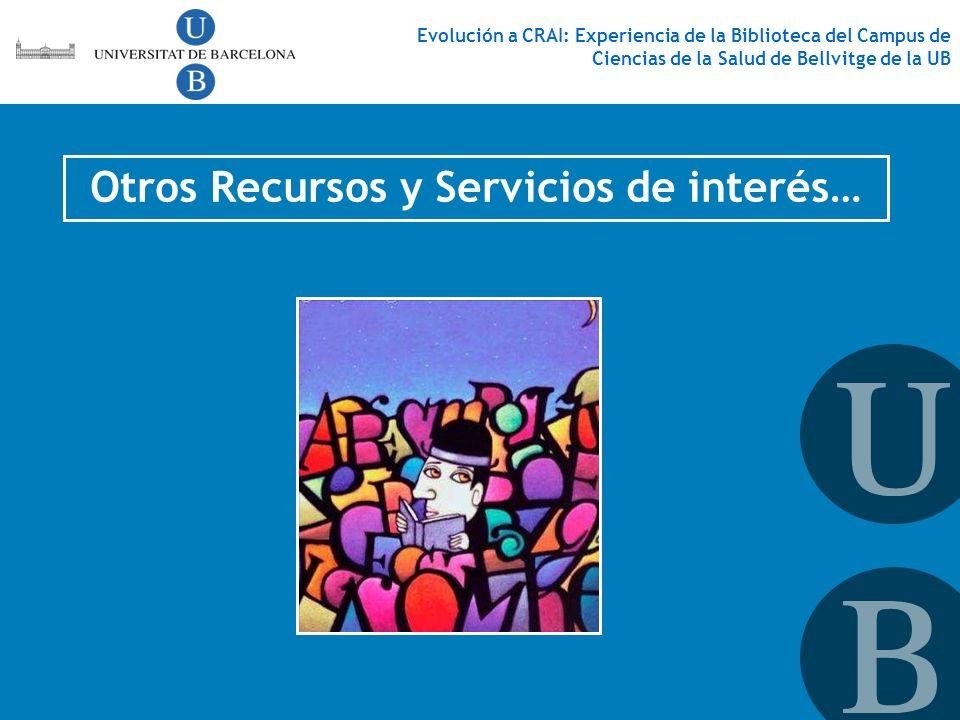 Otros Recursos y Servicios de interés…