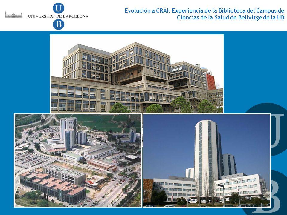Evolución a CRAI: Experiencia de la Biblioteca del Campus de Ciencias de la Salud de Bellvitge de la UB