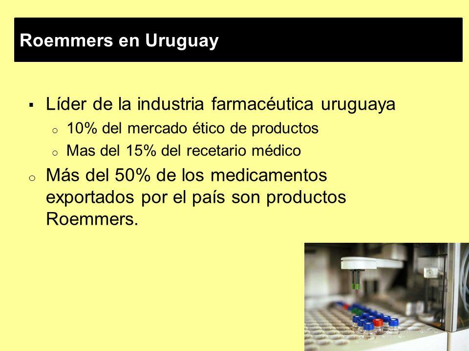 Líder de la industria farmacéutica uruguaya