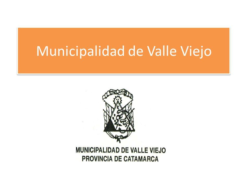 Municipalidad de Valle Viejo
