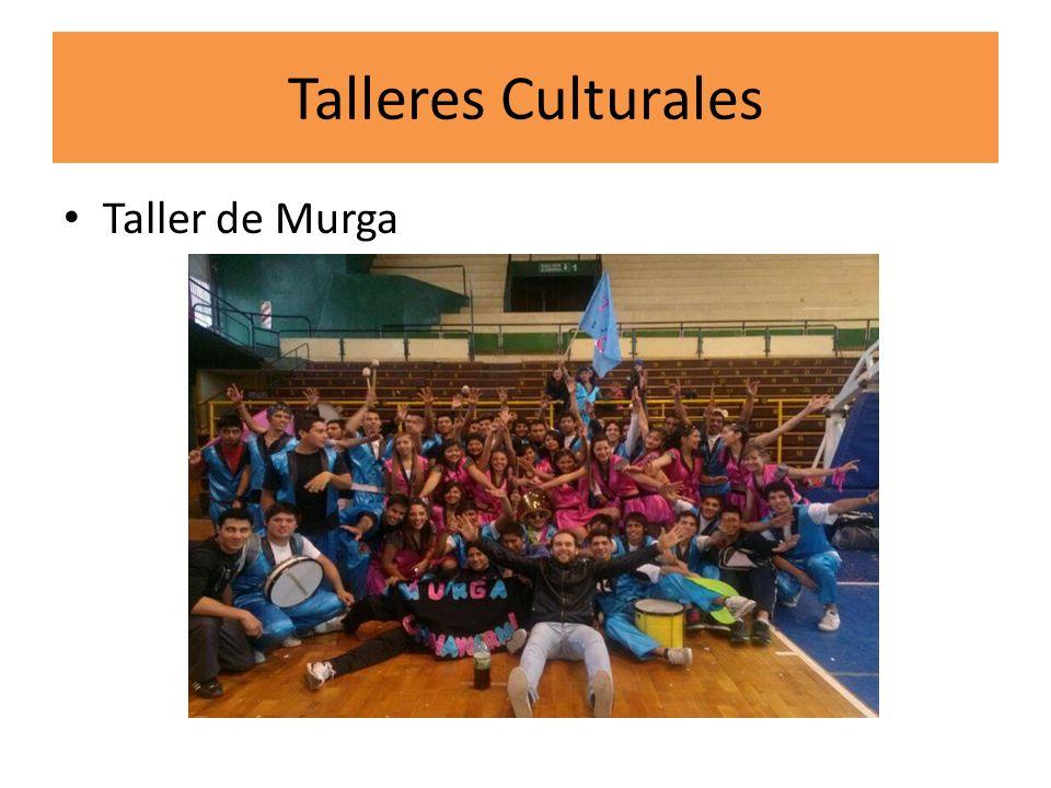 Talleres Culturales Taller de Murga