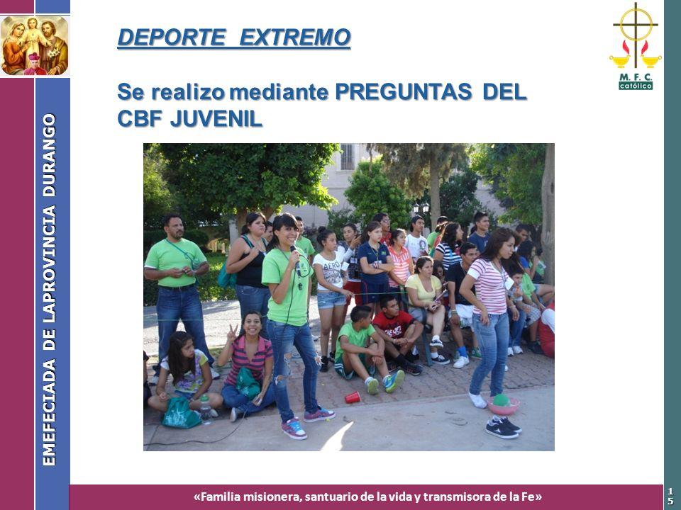 EMEFECIADA DE LAPROVINCIA DURANGO