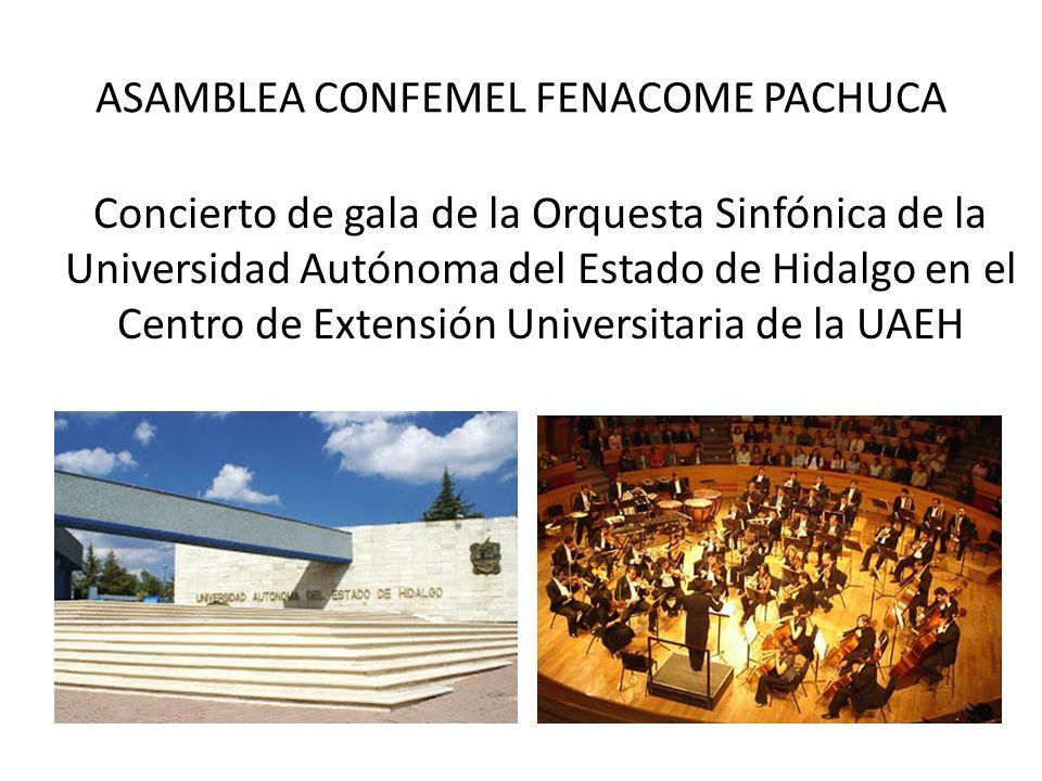ASAMBLEA CONFEMEL FENACOME PACHUCA