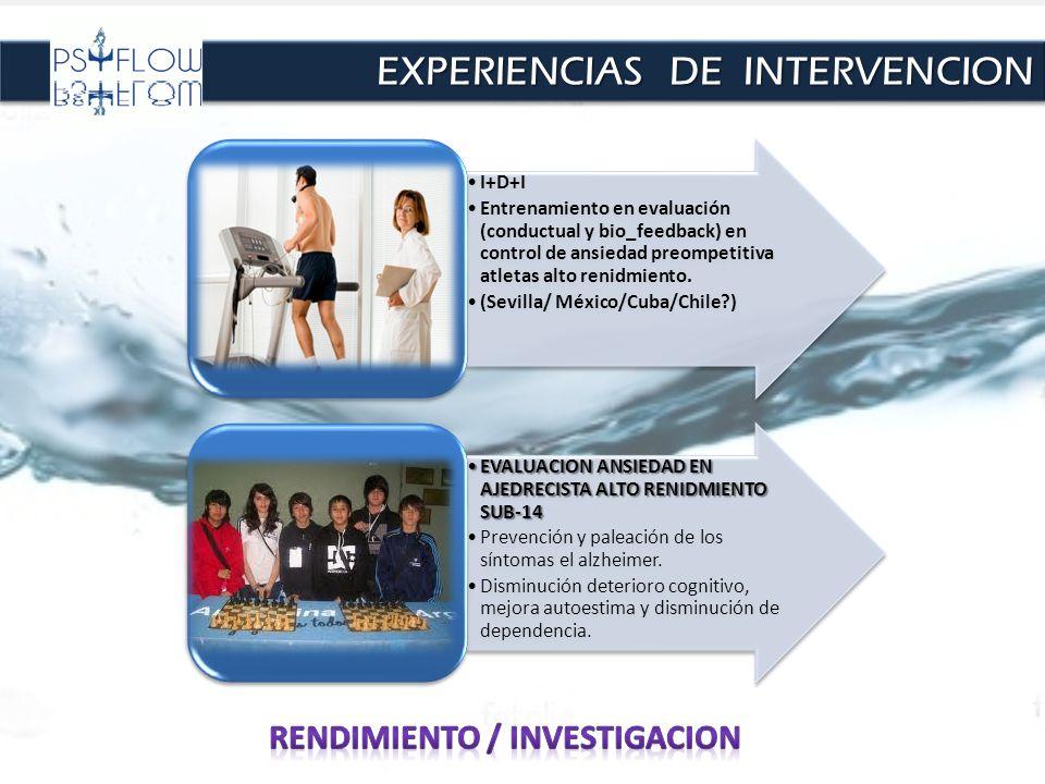 Rendimiento / investigacion