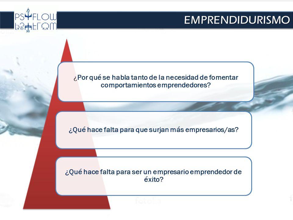 EMPRENDIDURISMO ¿Qué hace falta para que surjan más empresarios/as