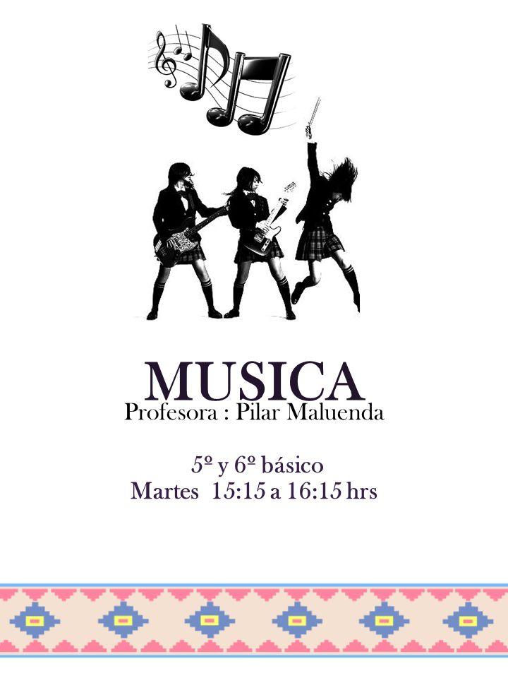 Profesora : Pilar Maluenda