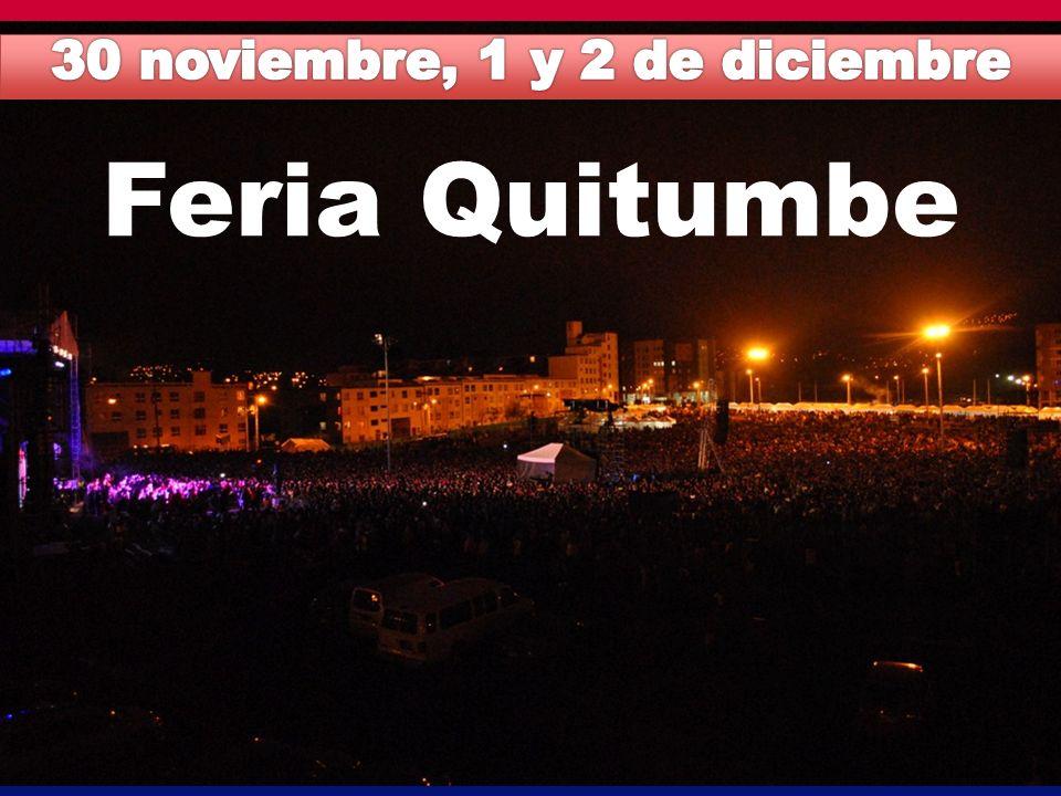 30 noviembre, 1 y 2 de diciembre