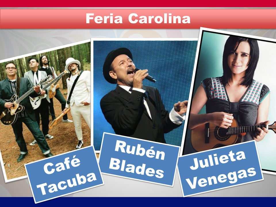 Rubén Blades Julieta Venegas Café Tacuba