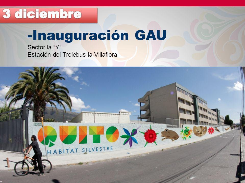 Inauguración GAU 3 diciembre Sector la Y