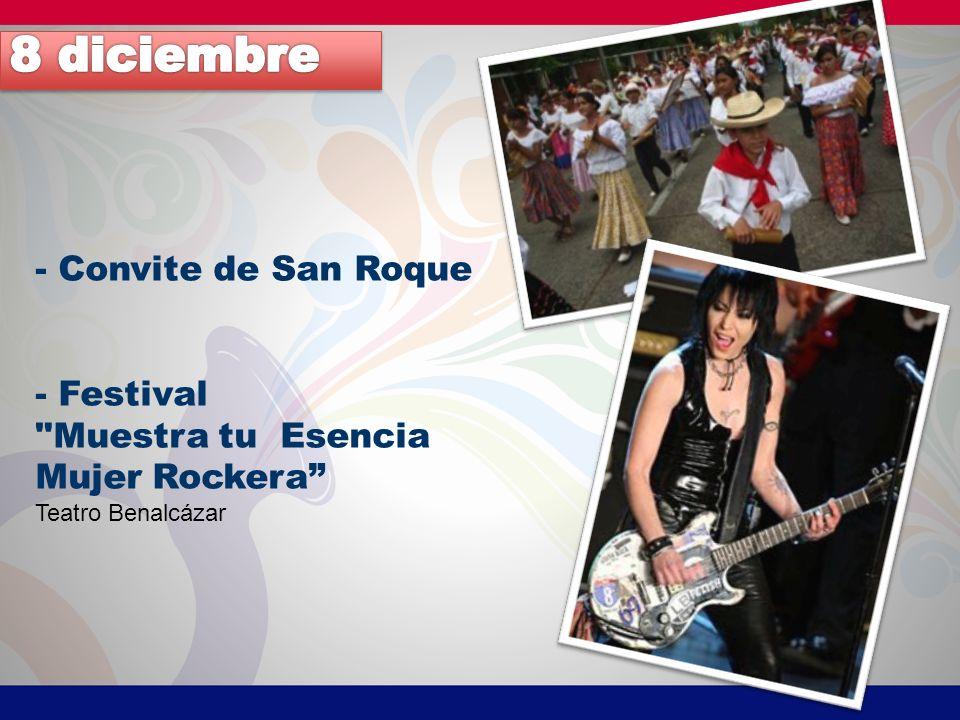 8 diciembre - Convite de San Roque - Festival