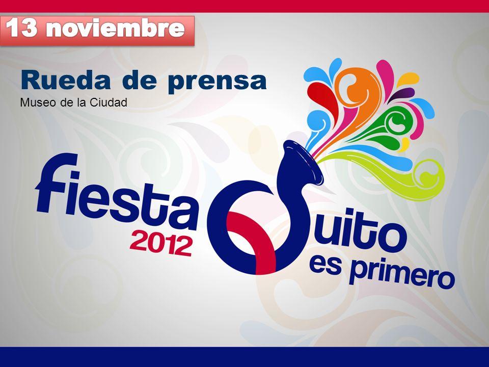 13 noviembre Rueda de prensa Museo de la Ciudad