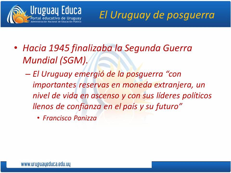 El Uruguay de posguerra