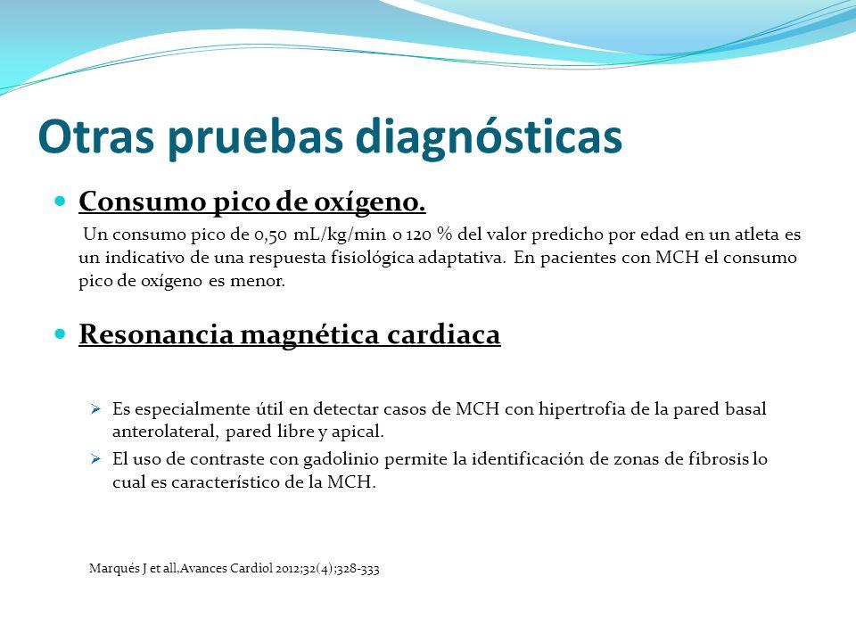 Otras pruebas diagnósticas