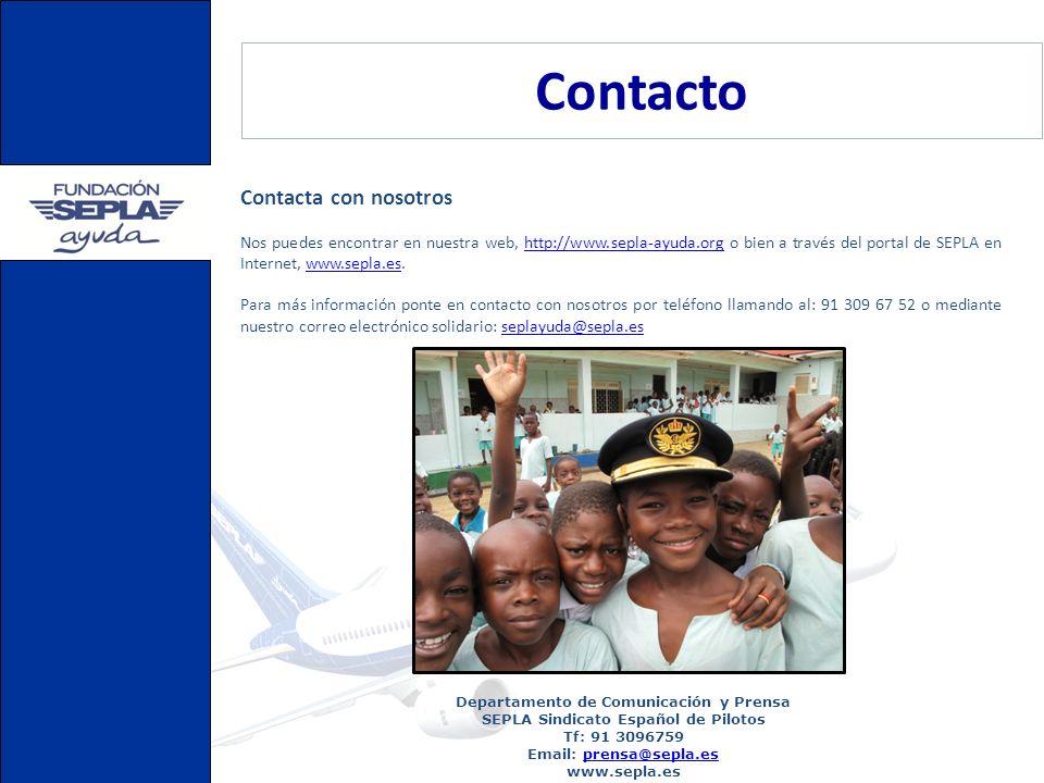Contacto Contacta con nosotros