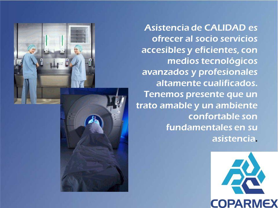 Asistencia de CALIDAD es ofrecer al socio servicios accesibles y eficientes, con medios tecnológicos avanzados y profesionales altamente cualificados.