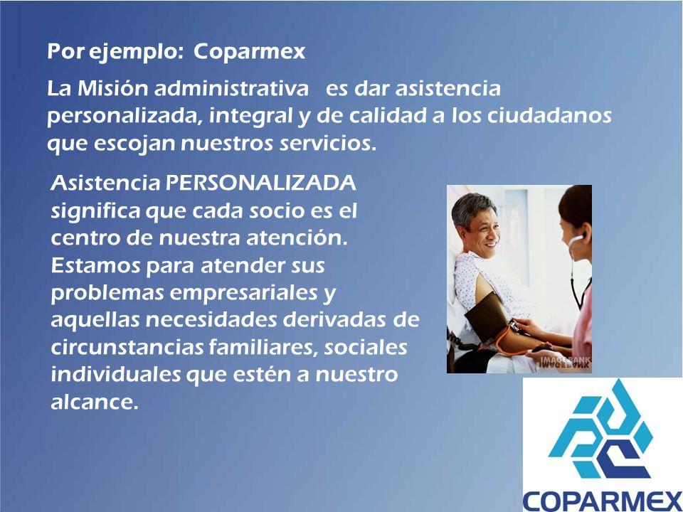 Por ejemplo: Coparmex