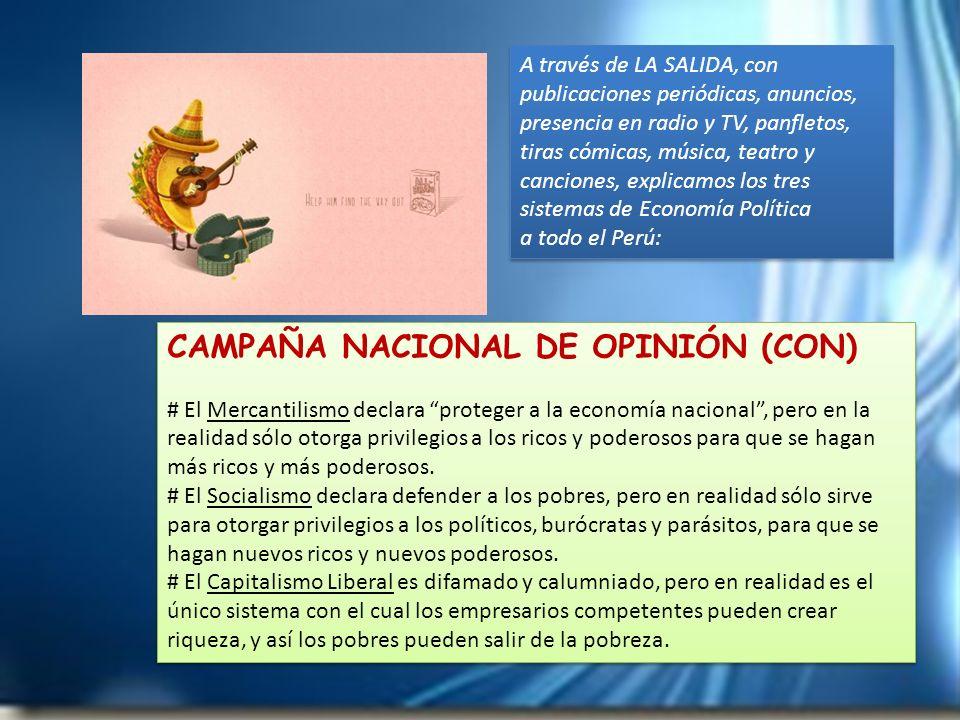 CAMPAÑA NACIONAL DE OPINIÓN (CON)