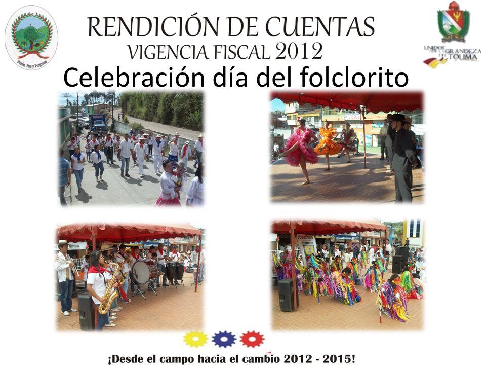 Celebración día del folclorito
