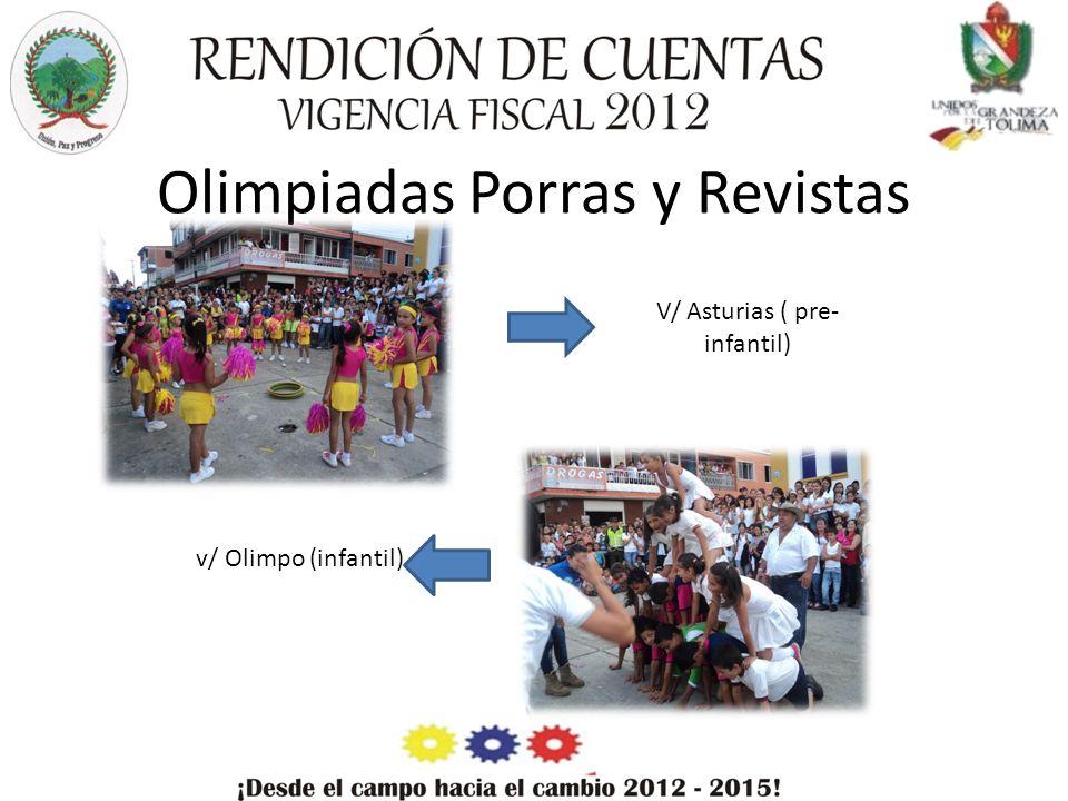 Olimpiadas Porras y Revistas