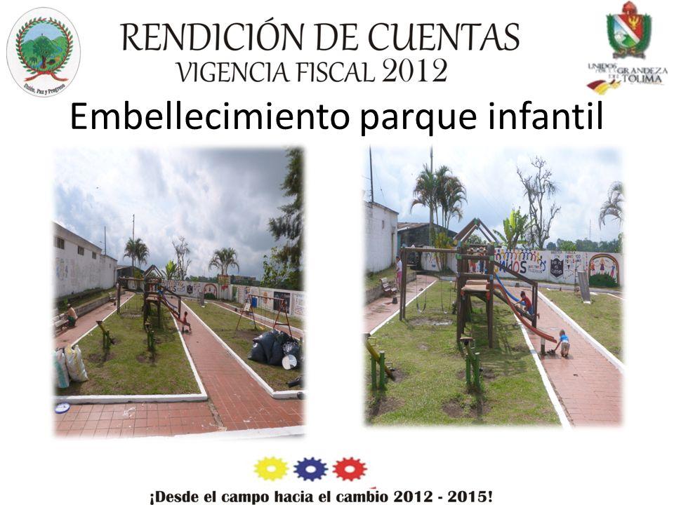 Embellecimiento parque infantil
