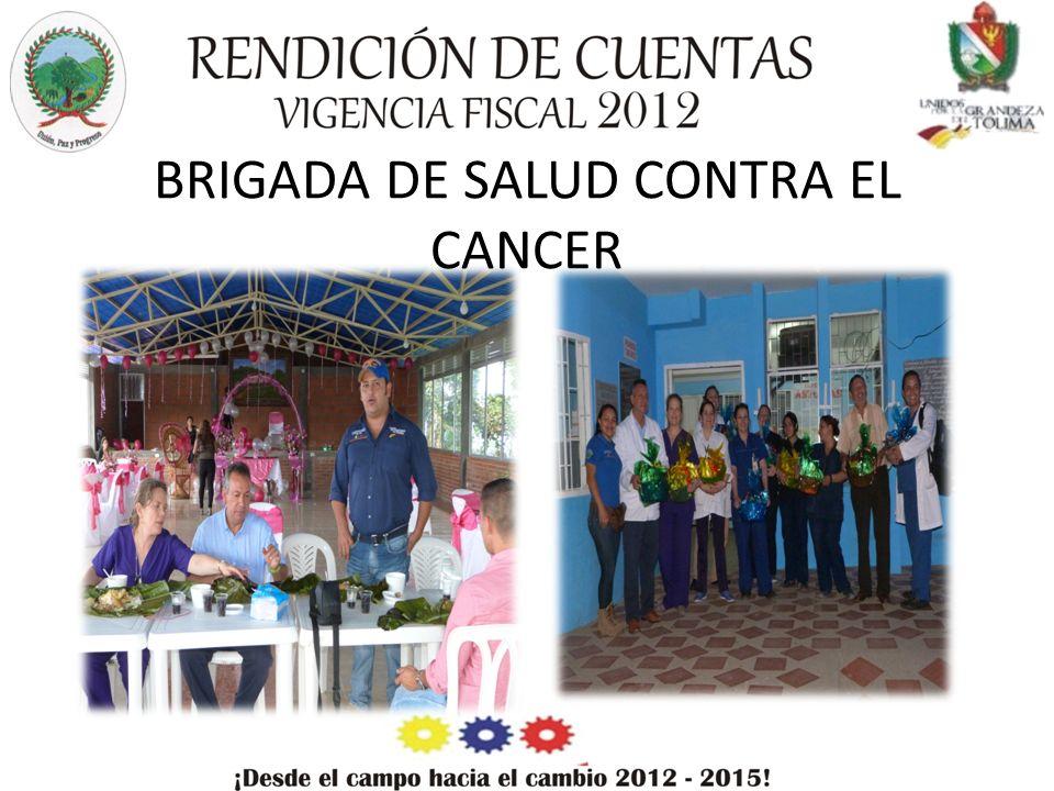 BRIGADA DE SALUD CONTRA EL CANCER