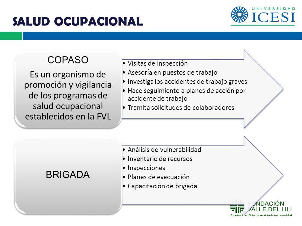 SALUD OCUPACIONAL COPASO