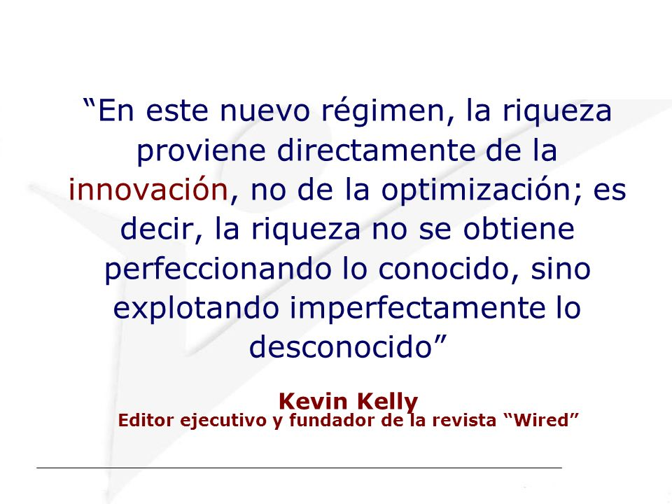 Editor ejecutivo y fundador de la revista Wired