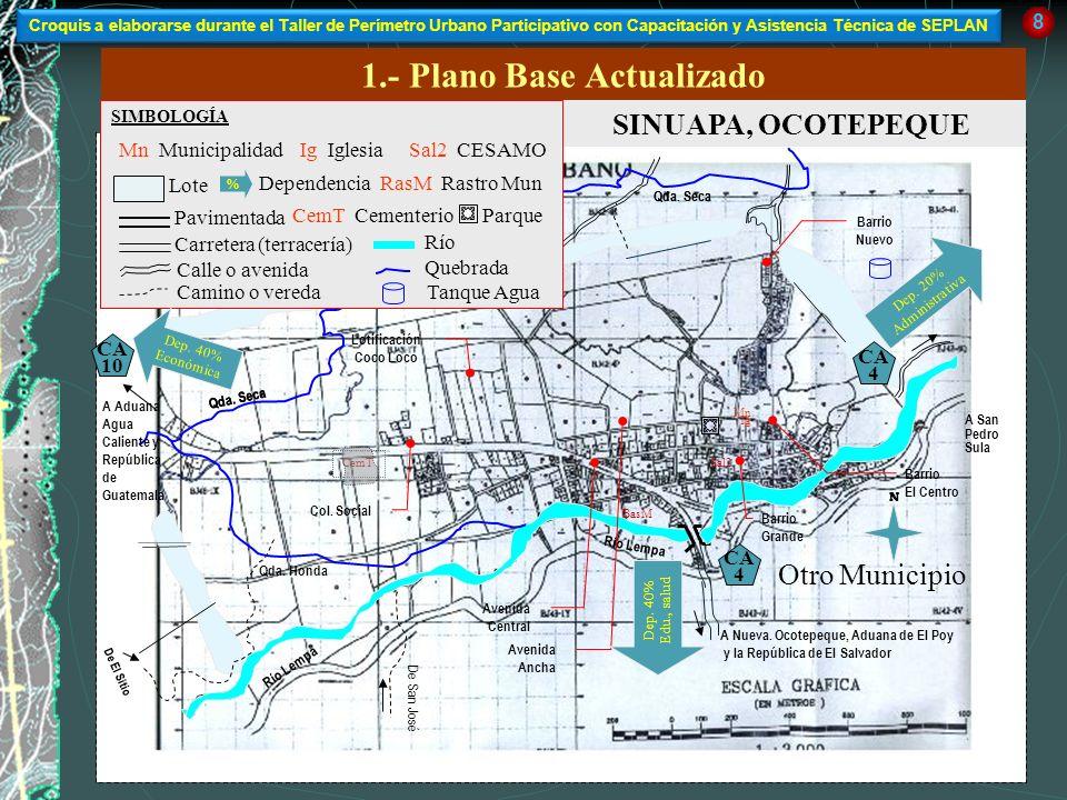 1.- Plano Base Actualizado