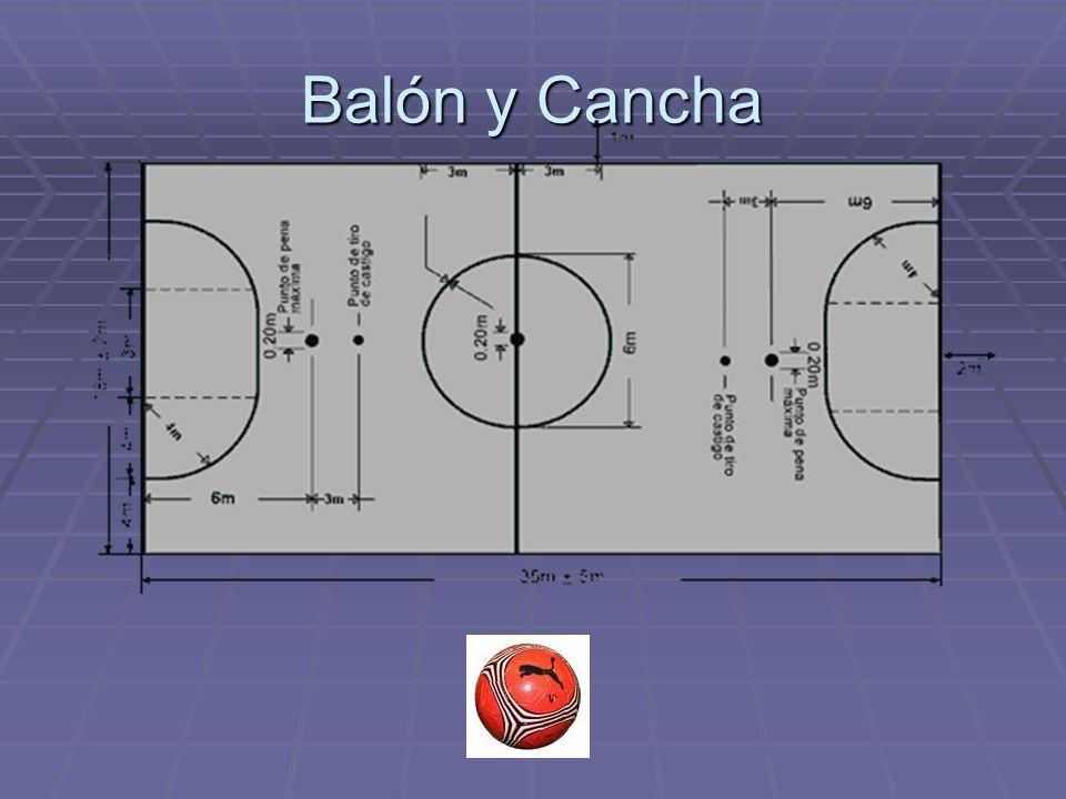 Balón y Cancha