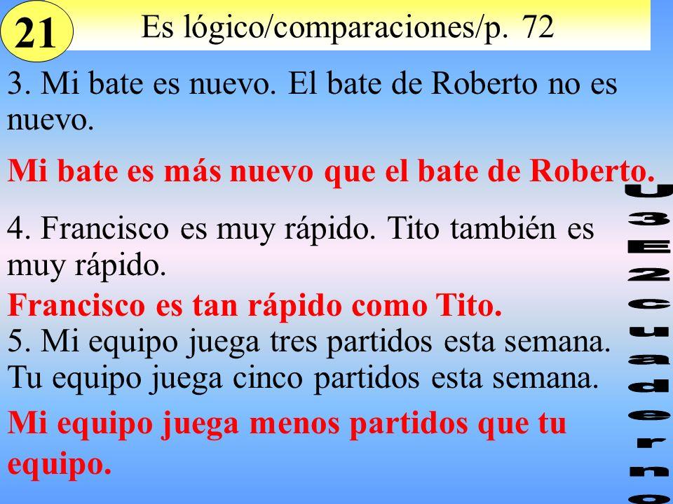 Es lógico/comparaciones/p. 72
