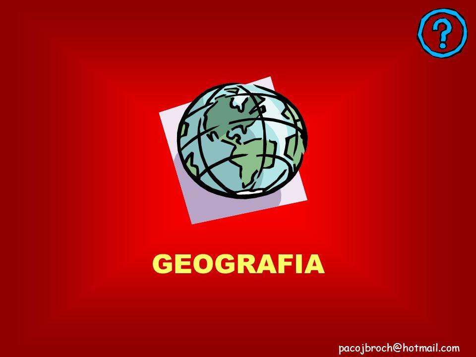 GEOGRAFIA pacojbroch@hotmail.com