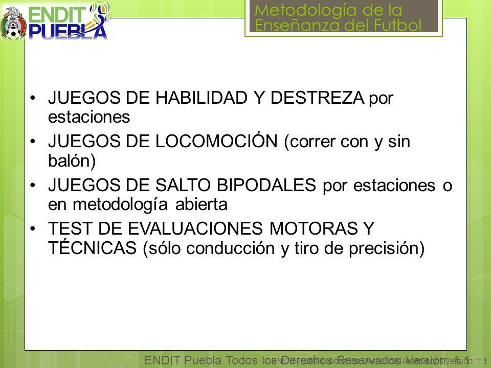 JUEGOS DE HABILIDAD Y DESTREZA por estaciones